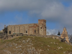 Vistas del Castillo de Aracena.